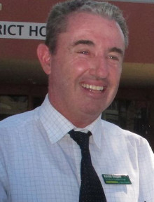 Kevn Hogan, MP for Page