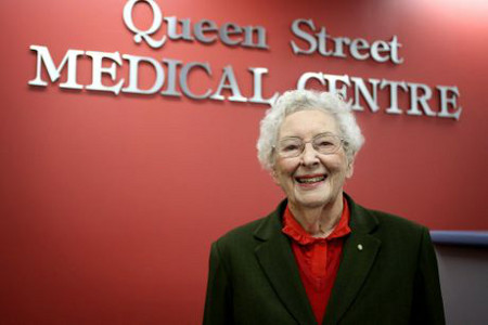 Dr Betty Marks, Image courtesy of Tweed Daily News