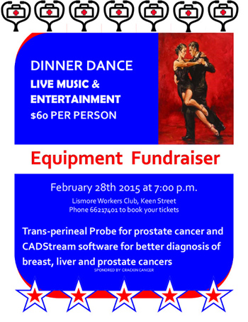 fund raiser flyer