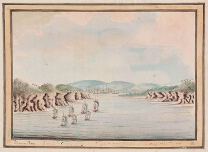 First Fleet in Botany Bay, 21 Jan 1788