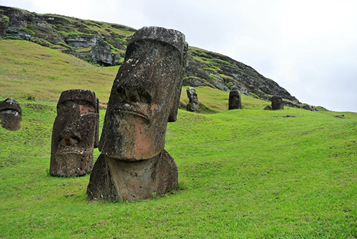 Easter Island photo by Ruth Tinker