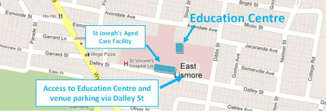 SVH Education Centre Parking Map