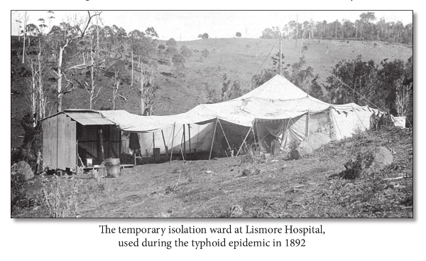 Lismore Hospital Typhoid