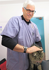 Veterinary surgeon Mike Fitzgerald