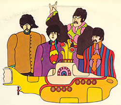 Beatles-yellow-submarine-characters; Anathea Utley; CC by 2.0