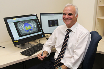 Radiation oncologist Associate Professor Tom Shakespeare