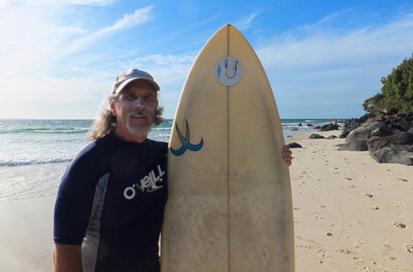 Project leader Dr Mike Climstein has already found surfers experience three times the melanoma rate of Australians generally.