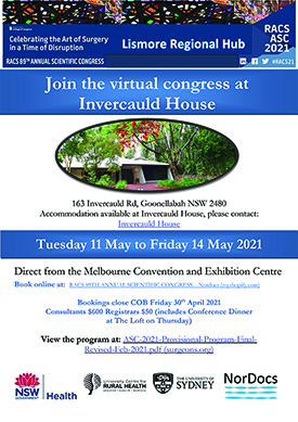 RACS Scientific Congress Lismore Hub