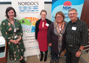 Nordocs organisers - Louise Imlay-Gillespie, Sabine Ringowski, Angela Bettess and David Guest